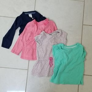 18 month girl top bundle